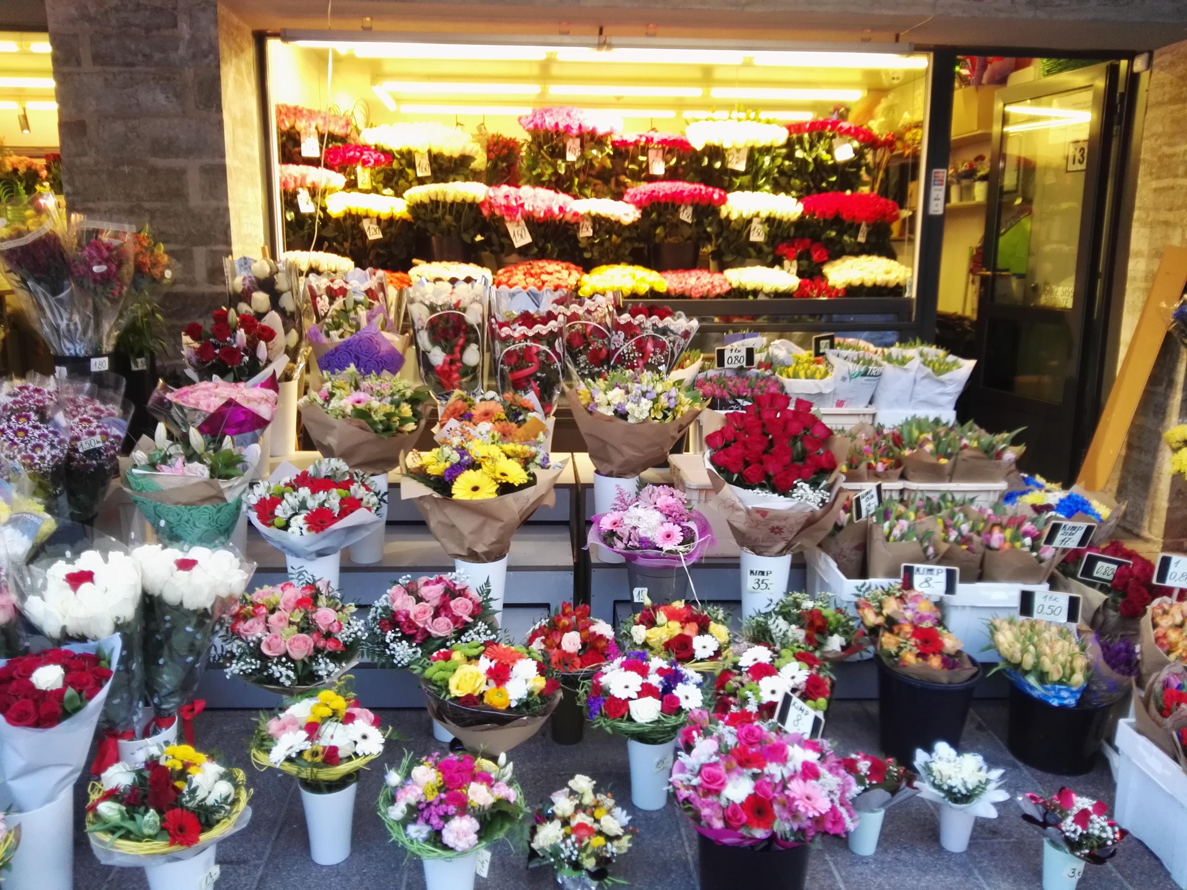 Уфа оптовые поставки цветов, популярный букет невесты